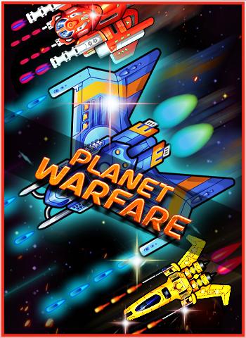 Planet Warfare – Space Shooter Arcade Game